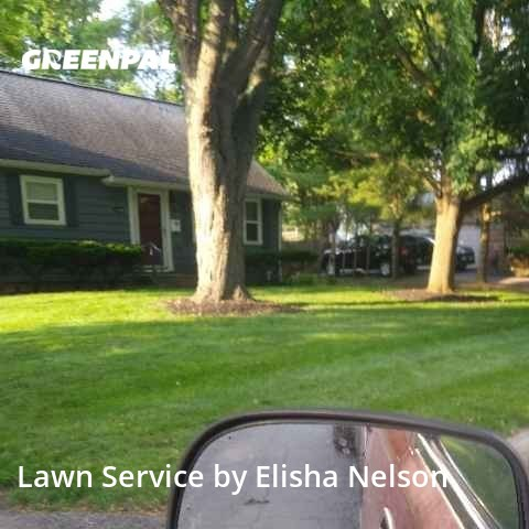 Grass Cuttingin Upper Arlington,43221,Grass Cutting by Local Landscaping, work completed in Sep , 2020