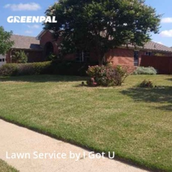 Lawn Mowing Servicein Burleson,76028,Yard Mowing by I Got U, work completed in Jul , 2020