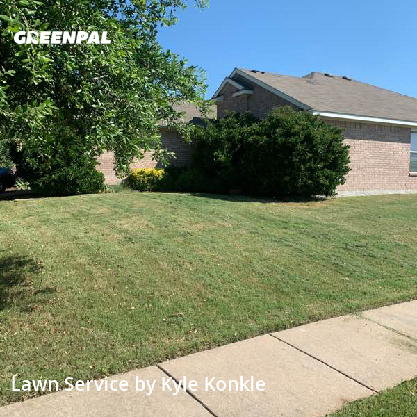 Grass Cutin Princeton,75407,Lawn Care by Kdk Landscaping, work completed in Oct , 2020