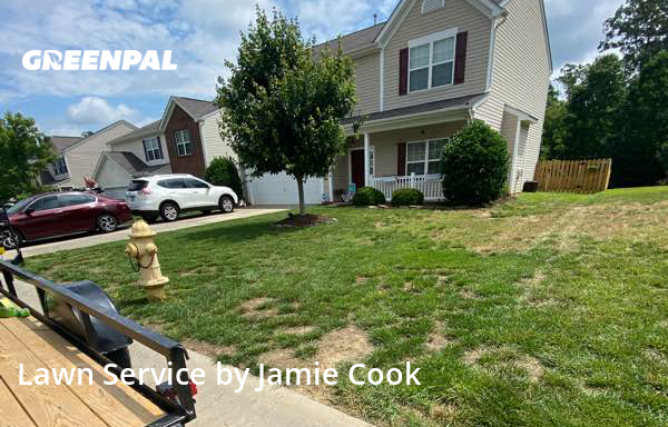 Grass Cutin Midland,28107,Lawn Mowing Service by Green Oaks Lawn Care , work completed in Jul , 2020