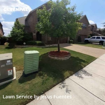 Grass Cuttingin Lewisville,75056,Lawn Cut by Cowboy Cutt Lawn Care, work completed in Jul , 2020