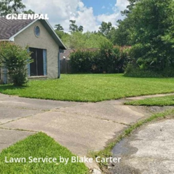 Lawn Cutin Spring,77373,Lawn Care by The Lawn Firm , work completed in Jul , 2020