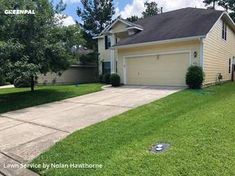 Yard Mowingin The Woodlands,77382,Lawn Service by Hawthorne Lawn Care, work completed in Aug , 2020