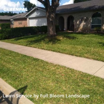 Lawn Mowingin North Richland Hills,76182,Lawn Mowing Service by Full Bloom Landscape, work completed in Jul , 2020