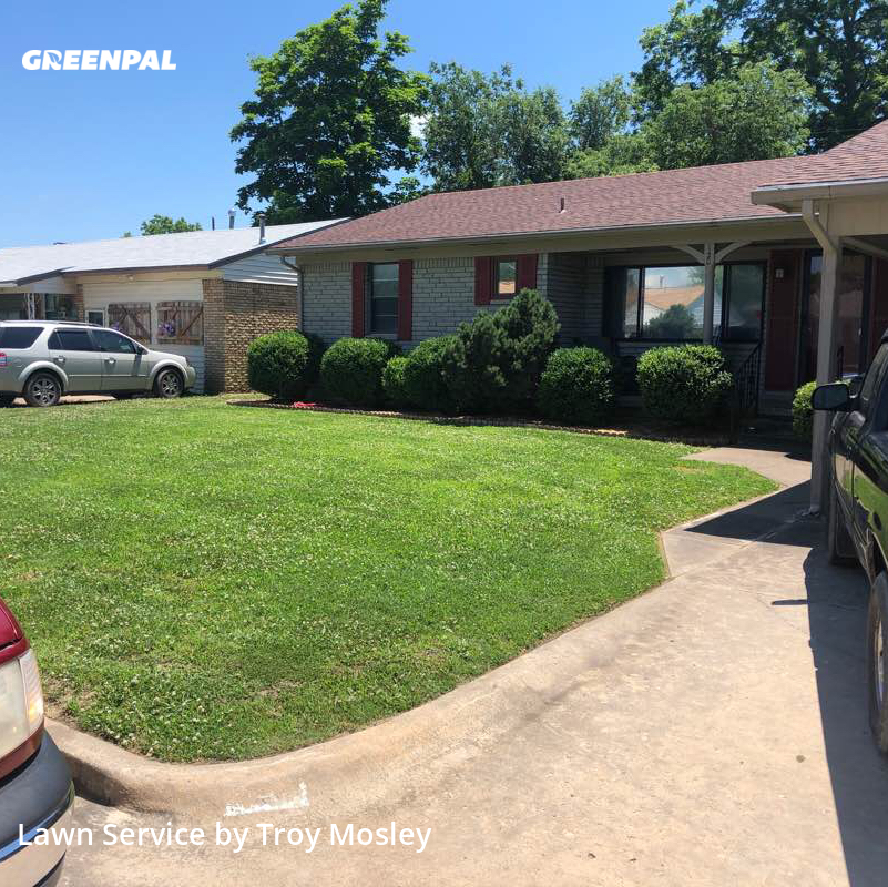 Lawn Carein Sapulpa,74066,Lawn Care Service by Mosley Lawn Service, work completed in Aug , 2020