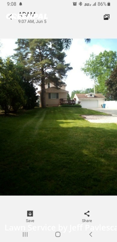 Yard Mowingin Parma,44134,Lawn Mowing by Just Perfect Lawn, work completed in Jul , 2020