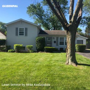 Lawn Servicein Joliet,60436,Lawn Cut by K&S Landscaping, work completed in Jul , 2020