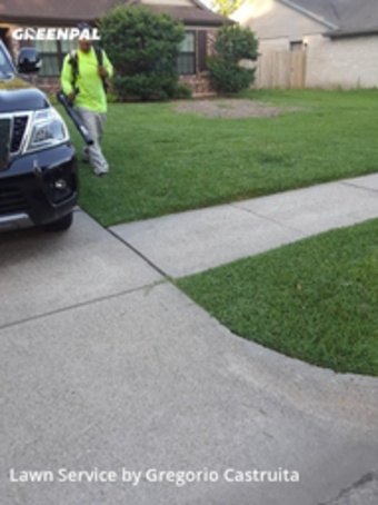 Lawn Mowing Servicein Pasadena,77505,Lawn Care by Castruita Lawn , work completed in Aug , 2020