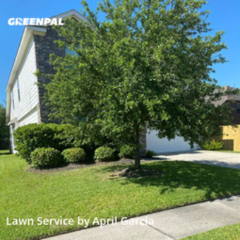 Yard Mowingin Humble,77338,Grass Cutting by B&A Lawn Care , work completed in Jul , 2020
