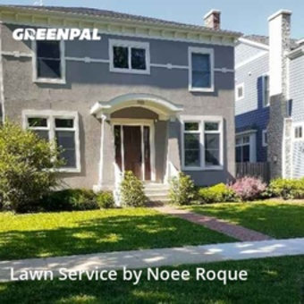 Lawn Cuttingin Evanston,60201,Grass Cut by Roque Landscaping , work completed in Sep , 2020