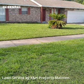 Lawn Care Servicein Fl,32808,Lawn Mow by K&H Property Mainten, work completed in Jul , 2020