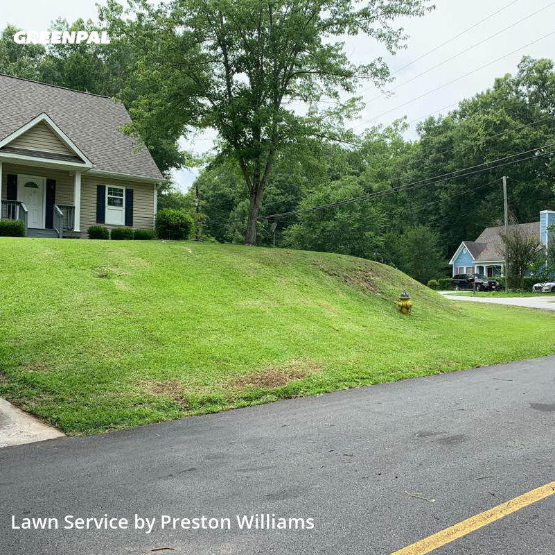 Yard Mowingin Macon,31220,Lawn Care by Oh Stick Lawn Svcs, work completed in Aug , 2020