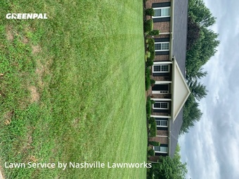 Lawn Mowin Brentwood,37027,Lawn Care Service by Nashville Lawnworks, work completed in Jul , 2020