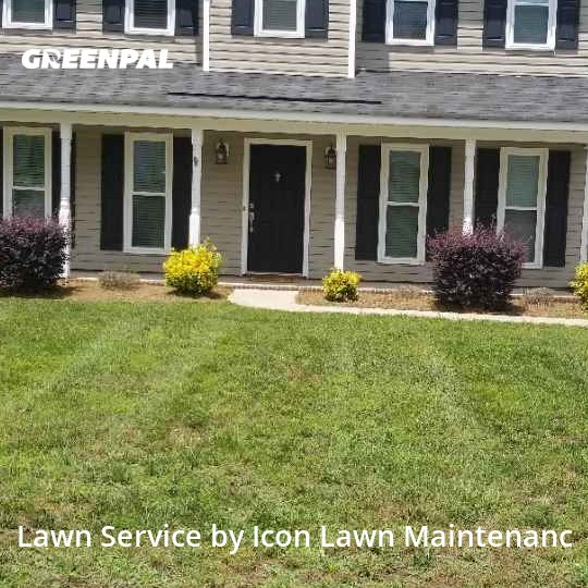 Lawn Servicein Concord,28027,Lawn Cutting by Icon Lawn Maintenanc, work completed in Sep , 2020
