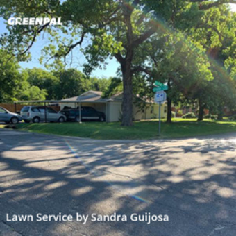 Lawn Mowingin Burleson,76028,Lawn Care by Raccoon Lawn Service, work completed in Jul , 2020