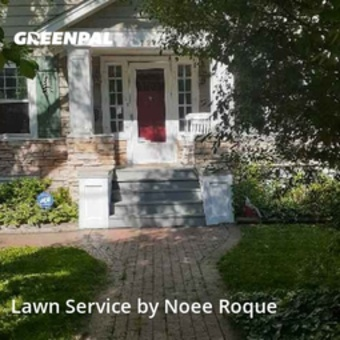 Yard Cuttingin Des Plaines,60016,Lawn Cutting by Roque Landscaping , work completed in Sep , 2020