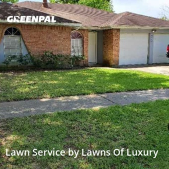 Lawn Mowing Servicein Spring,77373,Grass Cutting by Lawns Of Luxury , work completed in Jul , 2020