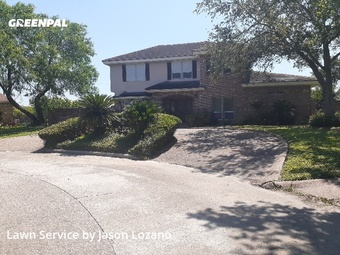 Lawn Maintenancein Corpus Christi,78413,Lawn Maintenance by Eco Lawn Care, work completed in Jul , 2020