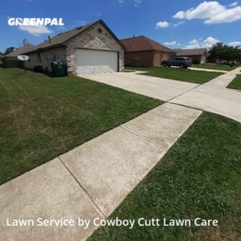 Lawn Carein Denton,76209,Lawn Service by Cowboy Cutt Lawn Care, work completed in Jul , 2020