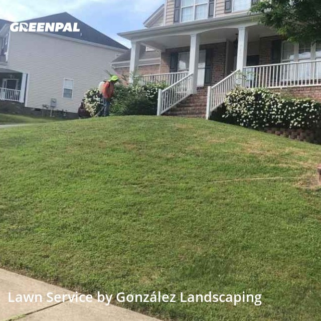 Lawn Care Servicein Wake Forest,27587,Lawn Mowing by González Landscaping, work completed in Jul , 2020