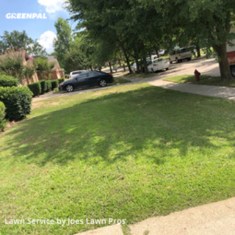 Lawn Cutin Grand Prairie,75052,Lawn Service by Joes Lawn Pros, work completed in Jul , 2020