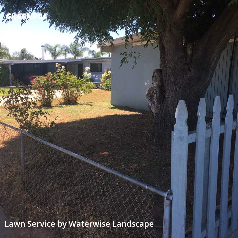 Grass Cutin El Cajon,92019,Grass Cut by Waterwise Landscape, work completed in Aug , 2020