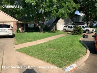 Grass Cutin Katy,77449,Grass Cut by Dmd Lawn Service , work completed in Jul , 2020