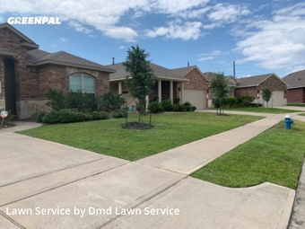 Lawn Servicein Katy,77449,Yard Mowing by Dmd Lawn Service , work completed in Jul , 2020