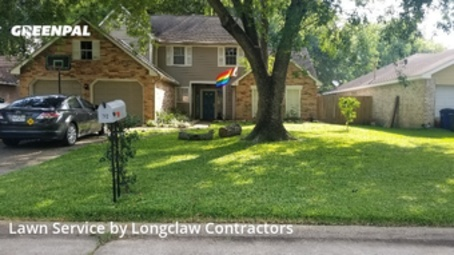 Lawn Mowing Servicein League City,77573,Lawn Maintenance by Longclaw Contractors, work completed in Jul , 2020