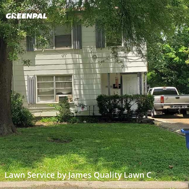 Grass Cutin Texas City,77590,Yard Cutting by James Quality Lawn C, work completed in Aug , 2020