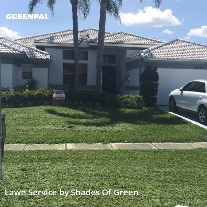 Lawn Cutin Coconut Creek,33433,Lawn Care Service by Shades Of Green, work completed in Sep , 2020