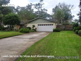 Lawn Carein Fl,32250,Lawn Cut by Mow And Maintenance, work completed in Aug , 2020