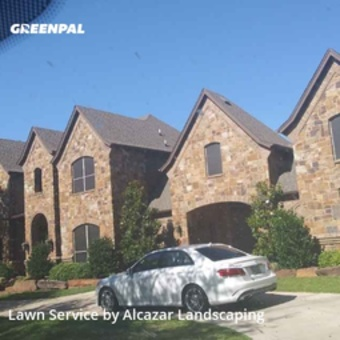 Grass Cutin Keller,76248,Lawn Mow by Alcazar Landscaping, work completed in Jul , 2020