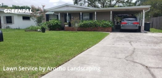 Lawn Cuttingin Winter Park,32792,Grass Cut by Arocho Landscaping , work completed in Jul , 2020