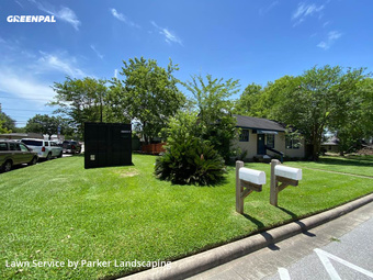 Lawn Mowing Servicein Tomball,77375,Lawn Maintenance by Parker Landscaping, work completed in Jul , 2020