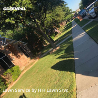 Grass Cutin Lewisville,75067,Lawn Mowing Service by H H Lawn Srvc, work completed in Jul , 2020