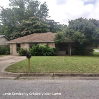 Grass Cutin Haltom City,76117,Lawn Maintenance by Cr8tive Vision Lawn, work completed in Jul , 2020