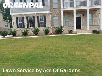 Lawn Cutin Cumming,30040,Yard Cutting by Ace Of Gardens, work completed in Oct , 2020