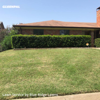 Lawn Servicein Richardson,75081,Grass Cut by Blue Ridge Lawns , work completed in Jul , 2020