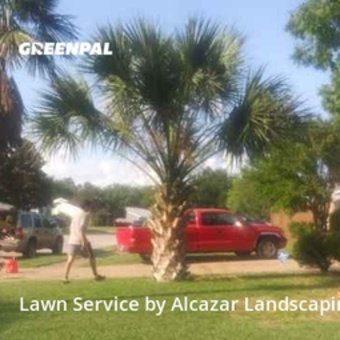 Lawn Carein Burleson,76028,Lawn Care Service by Alcazar Landscaping, work completed in Jul , 2020