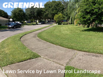 Grass Cuttingin Oviedo,32765,Lawn Mowing by Lawn Patrol Landscape, work completed in Oct , 2020