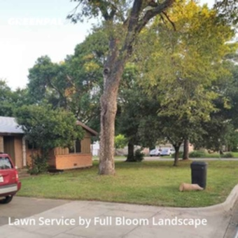 Yard Mowingin Bedford,76022,Lawn Cutting by Full Bloom Landscape, work completed in Aug , 2020