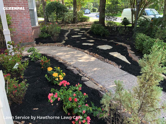 Lawn Carein The Woodlands,77382,Lawn Maintenance by Hawthorne Lawn Care, work completed in Aug , 2020