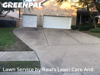 Grass Cutin Austin,78732,Yard Cutting by Raul's Lawn Care And, work completed in Sep , 2020