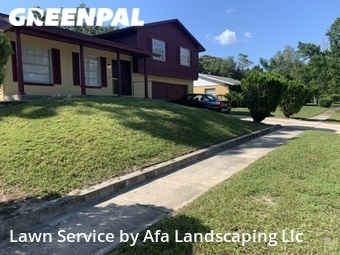 Grass Cutin Fl,32808,Lawn Mowing Service by Afa Landscaping Llc, work completed in Sep , 2020