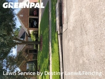 Lawn Mowing Servicein Cypress,77433,Lawn Cut by Destiny Lanw&Fencing, work completed in Sep , 2020