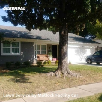 Lawn Maintenancein Garland,75041,Yard Mowing by Matlock Facility Car, work completed in Sep , 2020