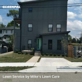 Lawn Servicein Nashville,37206,Grass Cut by Mike's Lawn Care, work completed in Aug , 2020