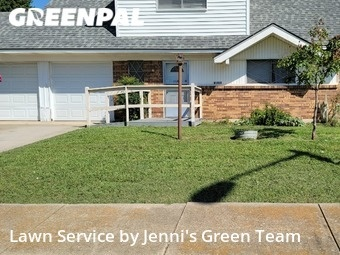 Lawn Mowin Denton,76209,Lawn Mow by Jenni's Green Team, work completed in Sep , 2020