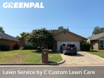 Lawn Mowingin Edmond,73012,Lawn Cut by C Custom Lawn Care, work completed in Sep , 2020